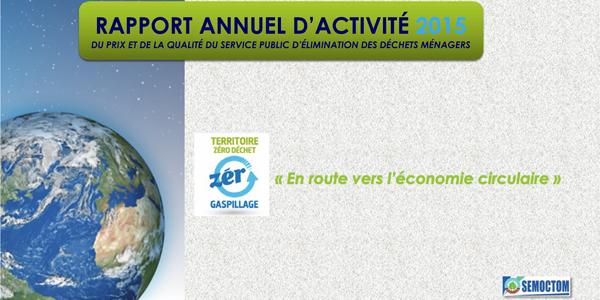 Le rapport annuel Prix et qualité du service public 2015 est consultable en ligne