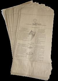 sacs krafts pour les déchets alimentaires