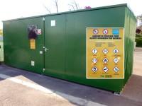 Caisson de stockage des déchets dangereux