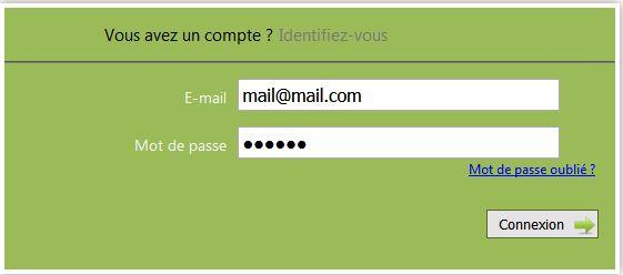 connexion webusager