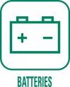 panneau Batteries déchèterie